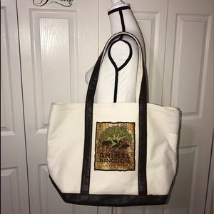 Disney animal kingdom tote bag